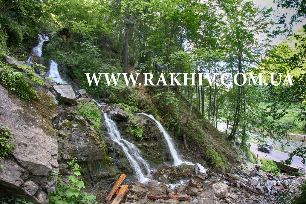 Труфанець водоспад Trufanec waterfall